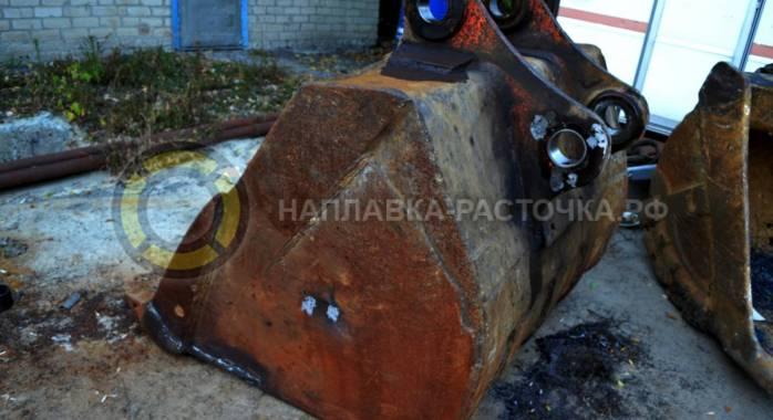Ковш после восстановления | Компания Weldbore © 2018