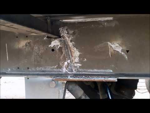 Embedded thumbnail for Восстановление разорванной рамы полуприцепа