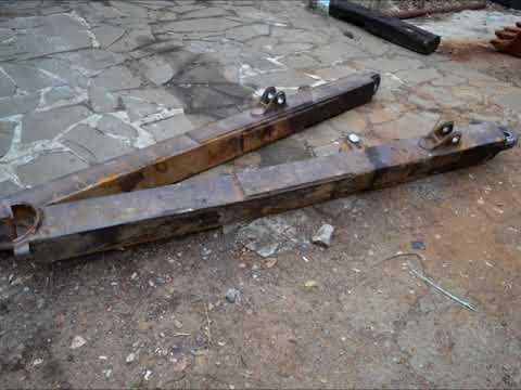 Embedded thumbnail for Восстановление отверстий отвала бульдозера Б-10