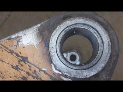 Embedded thumbnail for Восстановление передней тяги отвала погрузчика